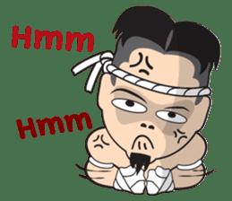 Mr. Muay Thai sticker #433691