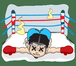 Mr. Muay Thai sticker #433704
