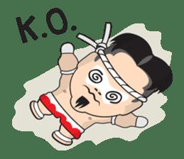 Mr. Muay Thai sticker #433716