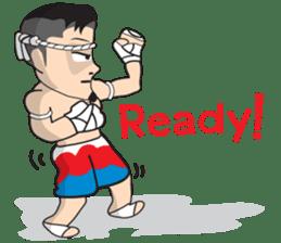 Mr. Muay Thai sticker #433719