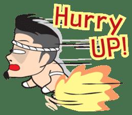 Mr. Muay Thai sticker #433721