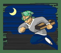 Pattern of Jidaigeki(Samurai drama) sticker #433784