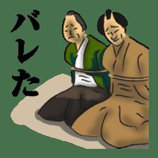 Pattern of Jidaigeki(Samurai drama) sticker #433790