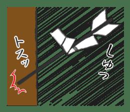Pattern of Jidaigeki(Samurai drama) sticker #433795