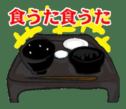 Pattern of Jidaigeki(Samurai drama) sticker #433804