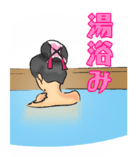 Pattern of Jidaigeki(Samurai drama) sticker #433805