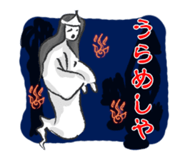 Pattern of Jidaigeki(Samurai drama) sticker #433806