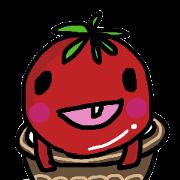 สติ๊กเกอร์ไลน์ life of tomatoes
