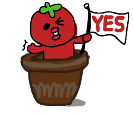life of tomatoes sticker #434301