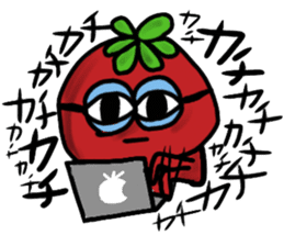 life of tomatoes sticker #434309