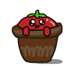 life of tomatoes sticker #434323