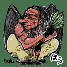 The Sticker Parade of Monsters (Yokai) sticker #434376