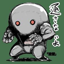 The Sticker Parade of Monsters (Yokai) sticker #434396