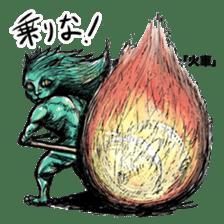 The Sticker Parade of Monsters (Yokai) sticker #434406