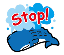 whale stamp vol.01 sticker #434417