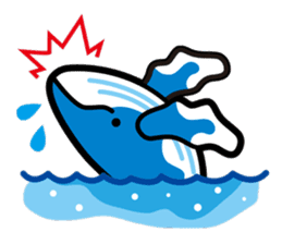 whale stamp vol.01 sticker #434422