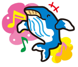 whale stamp vol.01 sticker #434439