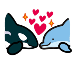 whale stamp vol.01 sticker #434443