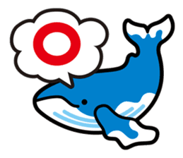 whale stamp vol.01 sticker #434444