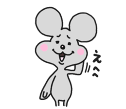 Chuuta of rat sticker #434569