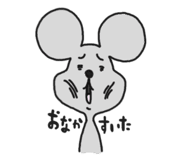 Chuuta of rat sticker #434581