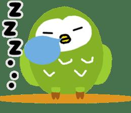 Fukuro the sleepy owl sticker #435010