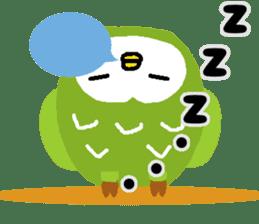 Fukuro the sleepy owl sticker #435012