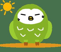 Fukuro the sleepy owl sticker #435022