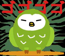 Fukuro the sleepy owl sticker #435027