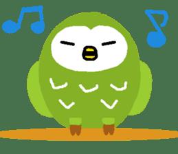 Fukuro the sleepy owl sticker #435030