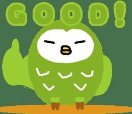 Fukuro the sleepy owl sticker #435040