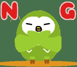 Fukuro the sleepy owl sticker #435041