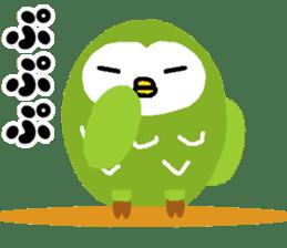 Fukuro the sleepy owl sticker #435042