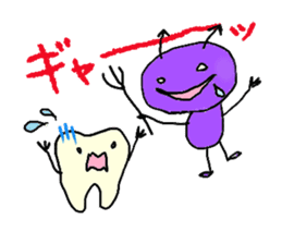 Mr.Tooth and Mr.Mutans vol.1 sticker #435628