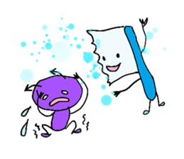 Mr.Tooth and Mr.Mutans vol.1 sticker #435644