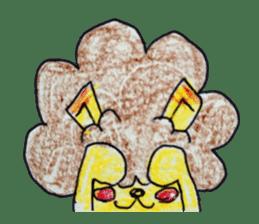 leo's hiyori sticker #436262