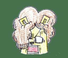 leo's hiyori sticker #436269