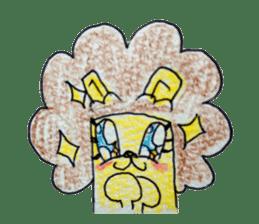 leo's hiyori sticker #436279