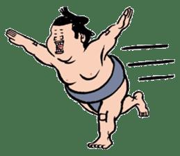 Sumo Wrestlers sticker #436569