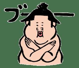 Sumo Wrestlers sticker #436572
