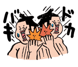 Sumo Wrestlers sticker #436573