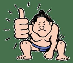 Sumo Wrestlers sticker #436585