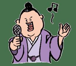 Sumo Wrestlers sticker #436598