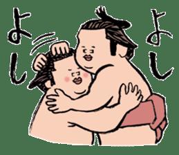 Sumo Wrestlers sticker #436601