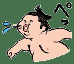 Sumo Wrestlers sticker #436602