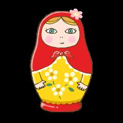 "matryoshka doll ""nina"""