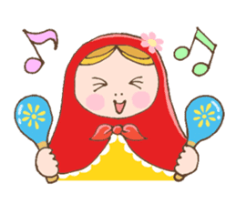 "matryoshka doll ""nina"" sticker #436945"