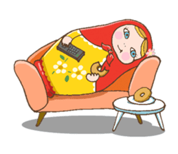 "matryoshka doll ""nina"" sticker #436946"