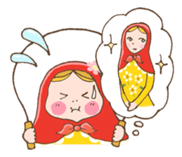 "matryoshka doll ""nina"" sticker #436948"
