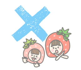 Himeichigo-chan(English ver.) sticker #437451